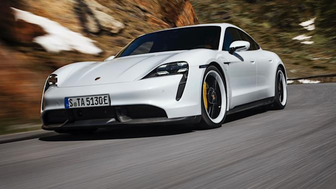 Porsche's 2020 Taycan EV gets new features via a free software update