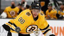Bruins' David Pastrnak Sheds Light On Lake Tahoe Postgame Celebration