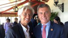 Christine Lagarde llegará mañana a Buenos Aires y cenará con Macri en Olivos
