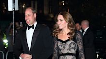Kate Middleton stuns in lace McQueen dress at Royal Variety Performance