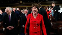 Senator Susan Collins Gambles Her 'Moderate' Reputation On Impeachment Vote