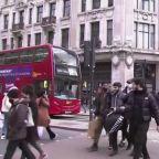 UK inflation hits 2.1%, pushing through target