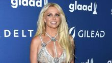 Britney just a wore a sparkly naked dress