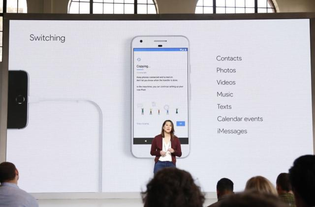 Google Pixel tools help you switch from an iPhone
