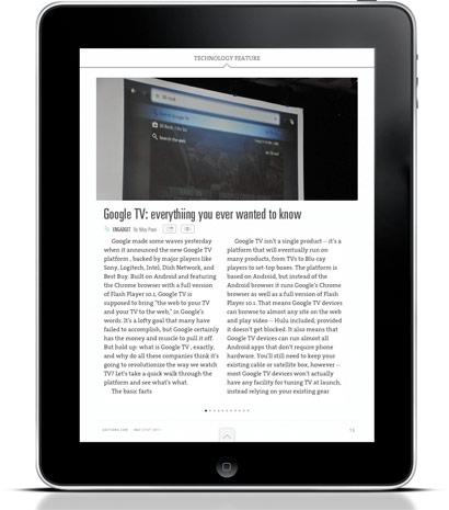 Editions iPad app: yet another way to ingest your technology news (and Engadget!)