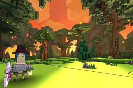 Trove starts alpha testing, sells supporter packs
