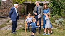 Prince George gets special present as William and Kate have movie night with Sir David Attenborough