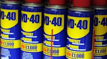 WD-40 tells us everything we need to know about the financial world today... yes, really