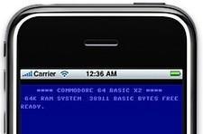 C64 emulator for iPhone