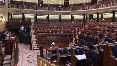 """Unidas Podemos pide en el Congreso acabar con """"el ahogo"""" de la regla de gasto"""