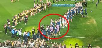 'NEVER SEEN THAT': Shock act after AFL grand final