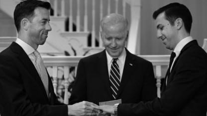 Vice President Joe Biden Performs Same-Sex Marriage at His Home: 'Love is Love!'