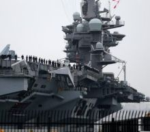 U.S. carrier group patrols in tense South China Sea