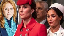 Fergie blames online trolls for pitting Meghan and Kate against each other