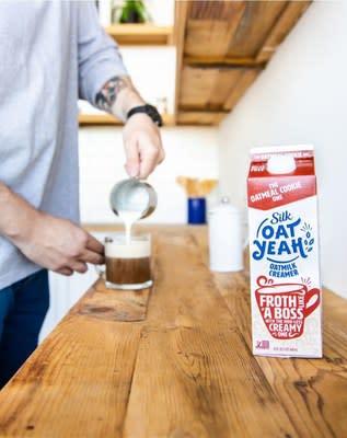 Silk's Oat Yeah™ Oatmilk Creamer Is Coffee's New Best Friend