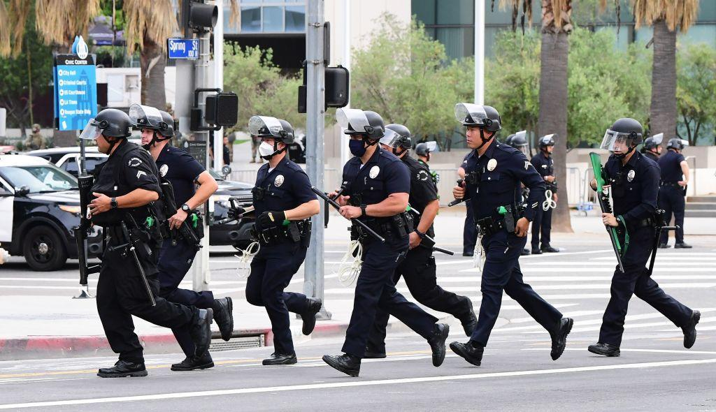Los Angeles City Council votes to slash LAPD budget by $150 million