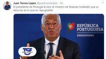 Portugal emociona a España con su solidaridad ante la Europa más exigente en la crisis del coronavirus