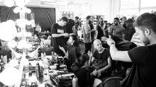 'Love Me' Artist Curtis Kulig Shoots: Fashion Week Yaaaaaaaaaayyy