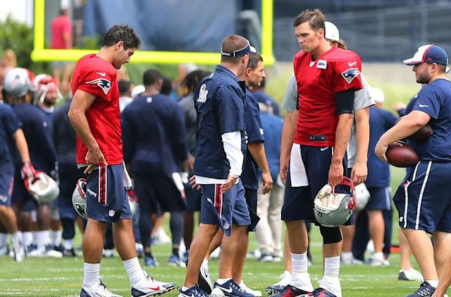Watch the Patriots practice in VR through Google Cardboard