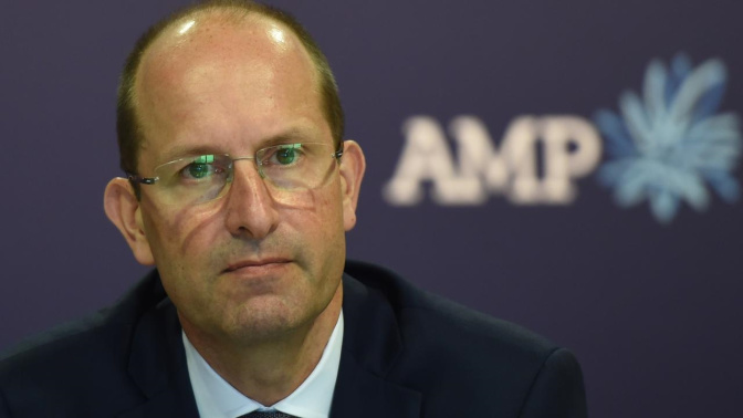 'Devastated' AMP boss quits after Royal Commission revelations