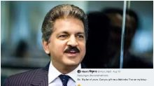 'Admire Your Chutzpah': Anand Mahindra Trolls Man Who Asked Him for Car on Bday