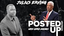 Julius Erving talks about his iconic hair, one-handed dunks and all-time NBA teams