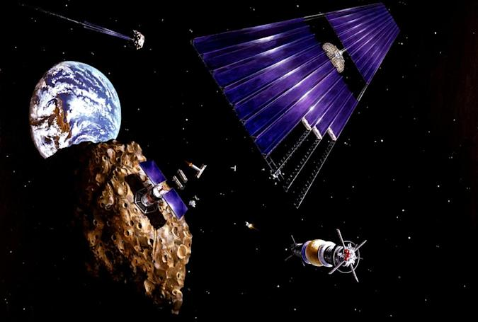 President signs pro-asteroid mining bill into law