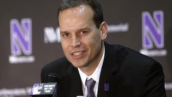Chris Collins vows to build winner as Northwestern coach
