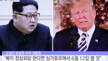 Trump says team in N. Korea planning summit with Kim