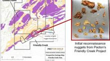 Initial Prospecting at Pacton's Friendly Creek in the Egina Area of the Pilbara Identifies Gold Nuggets
