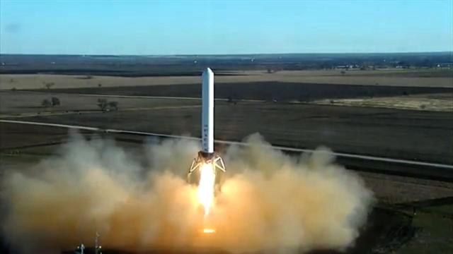 Reusable rocket is ready to launch