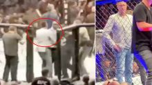 How a random fan helped Conor McGregor during crazy melee
