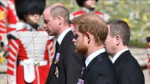 Moment royals were 'told to leave' Prince Philip's funeral