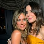 Jennifer Aniston shares picture from Sandra Bullock's social distance birthday party