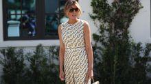 Melania Trump escoge un vestido de Gucci de 3.000 euros para ir a votar