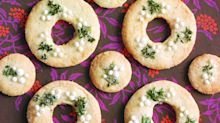 Cookie of the Day: Lemon-Thyme Wreaths