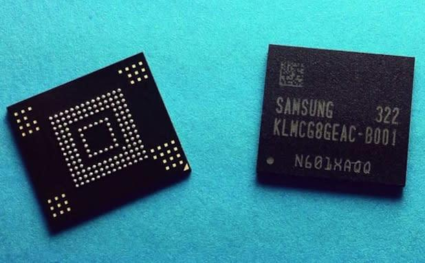 Samsung develops 'world's fastest' embedded memory, first with eMMC 5.0