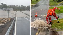 Snow and heavy rainfall: Parts of Australia battered by wild weather