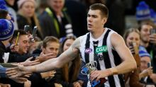 AFL star's touching gesture for sick fan