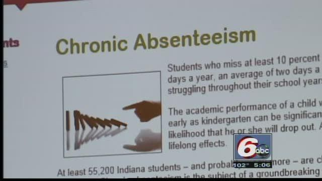 55,000 Indiana Students Chronically Absent, Study Says