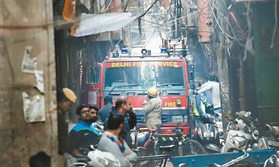 清晨都在睡 印度窄巷惡火43死