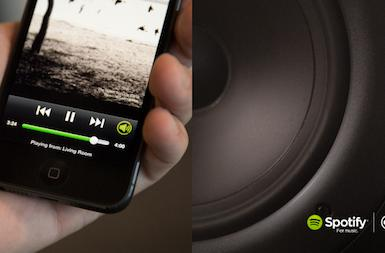 Spotify announces AirPlay-like Spotify Connect