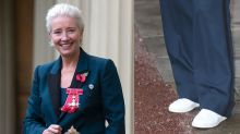 Emma Thompson Was Confused By Everyone's Reaction to Her Wearing Sneakers to Meet Royalty