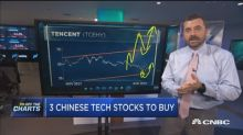 Chinese internet stocks getting slammed today, but one te...