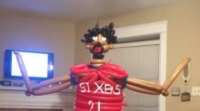 Best trade of the offseason: Your power tools for this Joel Embiid balloon sculpture