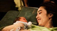 陳庭妮在產檯上抽筋 誓言「要當最辣的辣媽」