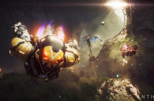 'Anthem' patch to fix crash, balance problems arrives Saturday