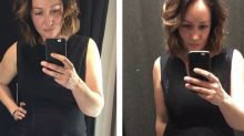 'What it says on the label means nothing': Woman's side-by-side photo shows how sizes change between brands