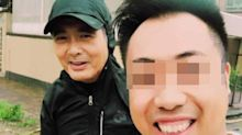 Hong Kong star Chow Yun Fat spotted helping to clear road after typhoon