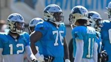 Inactive players for Panthers vs. Vikings: Two starting offensive linemen are back